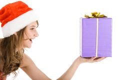 Big present Stock Image