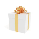 Big present box Royalty Free Stock Photography