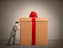 Big present Royalty Free Stock Images