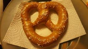 Big pretzel Stock Photography