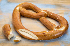 Big pretzel twist Royalty Free Stock Photography