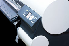 Big printer Royalty Free Stock Photos