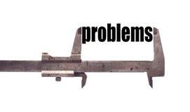 Big problems Stock Image