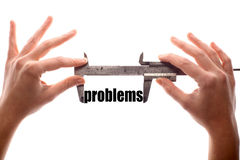 Big problems Royalty Free Stock Images