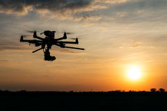 Big professional drone Royalty Free Stock Image