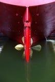 Big propeller Stock Images