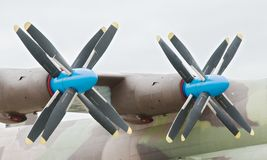 Big propellers. Stock Photos