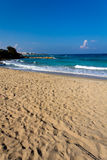Big Protaras Beach, Cyprus , on a sunny day Royalty Free Stock Image