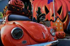 The big pumpkin in Halloween. Royalty Free Stock Photos