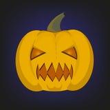 Big pumpkin Halloween stock photos
