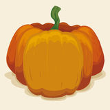 Big Pumpkin , Vector Illustration Stock Photos