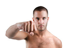 Big Punch Royalty Free Stock Image