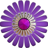 Big purple jeweled flower  Stock Image