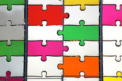 Big puzzle Stock Image