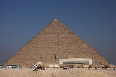 The big pyramid of Kheops Royalty Free Stock Image