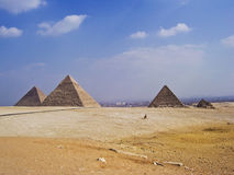 Big pyramids of Egypt. Photos from a trip royalty free stock photos