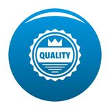 Big quality logo, simple style. Big quality logo. Simple illustration of big quality vector logo for web Royalty Free Stock Photos