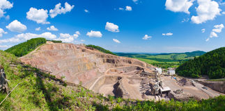Big quarry Stock Photography