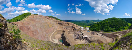 Big quarry Royalty Free Stock Images