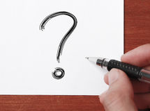 Big Question Mark Stock Images