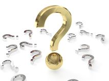Big Question Stock Image