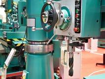 Big radial drilling machines Stock Photos
