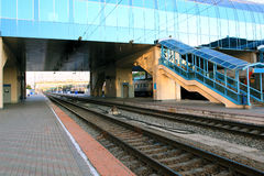 The big Railways Stations Royalty Free Stock Photo