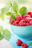 Big raspberry Royalty Free Stock Image
