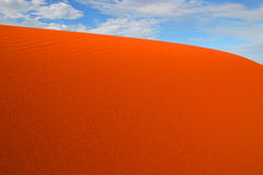 Big Red. The largest sand dune in the country Royalty Free Stock Photos