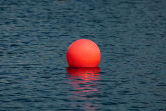 Big red ball Royalty Free Stock Images