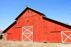 Big Red Barn Stock Images