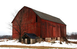 Big Red Barn Royalty Free Stock Photography