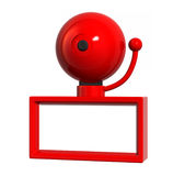 Big Red Bell Stock Photography