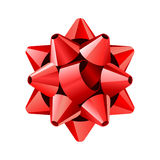 Big Red Bow Stock Photography