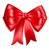 Big red bow Royalty Free Stock Images