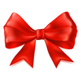 Big red bow Royalty Free Stock Image