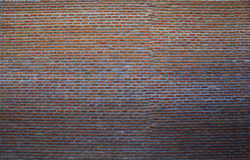 Big red brick wall and construction building wall use for multip Stock Photo