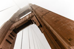 Big red bridge: The Golden Gate Royalty Free Stock Photography