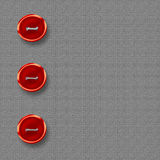 Big red buttons Stock Image