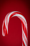 Big red candy cane Royalty Free Stock Photos