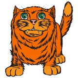 Big red cat. Royalty Free Stock Photography