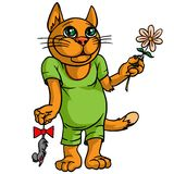 Big red cat. Royalty Free Stock Images