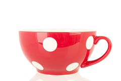 Big red cup Royalty Free Stock Images