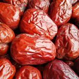Big Red Date - Jujube Fruit Stock Images