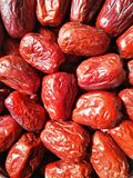Big Red Date - Jujube Fruit Royalty Free Stock Photography