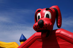 Big Red Dog 2 Stock Photography