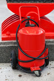 Big red fire extinguisher Royalty Free Stock Photo