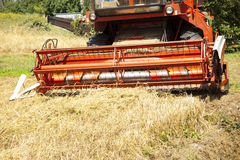 Big red harvester Royalty Free Stock Photos