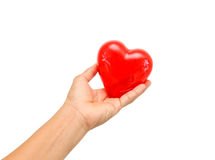 Big Red Heart. Royalty Free Stock Photos