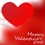 Big Red Hearts, Vector Illustration, valentine`s day Stock Photo